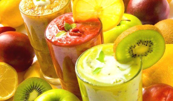рецепты приготовления овощных и фруктовых смузи