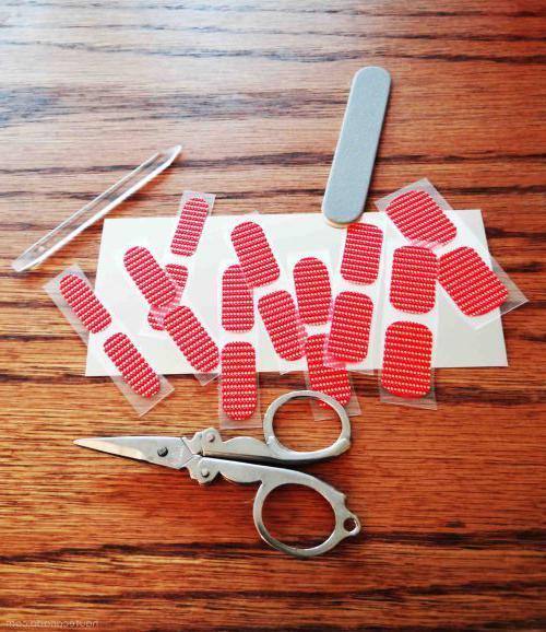 Переводные наклейки для ногтей как пользоваться