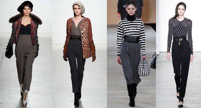 Модные Брюки 2015 Женские Осень