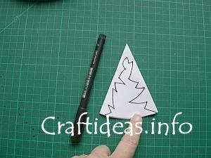 Как сделать лёгкую снежинку из бумаги своими руками