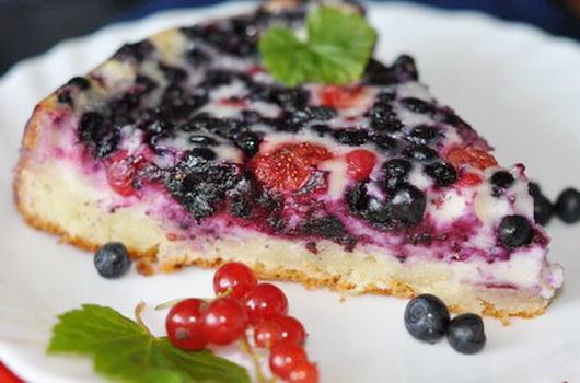 С замороженными ягодами рецепты