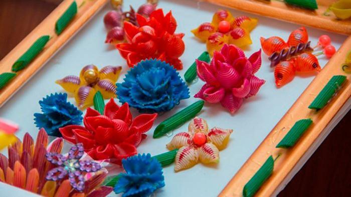 Ваза с искусственными цветами мастер класс