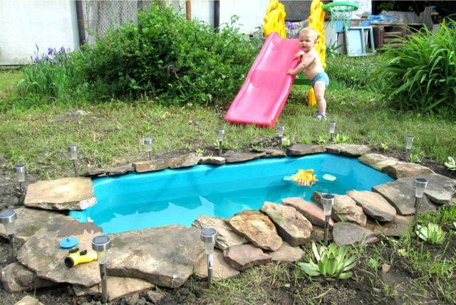 Как сделать бассейн из подручных материалов своими руками - My Life