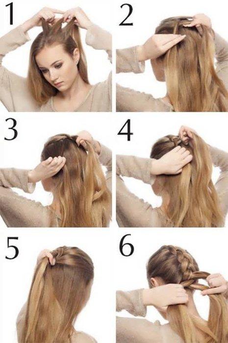 Как плести самой себе косу на бок самой себе