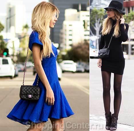 С чем носить весеннее платье