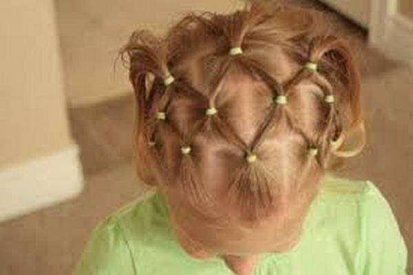 Детские прически на короткие волосы в домашних условиях