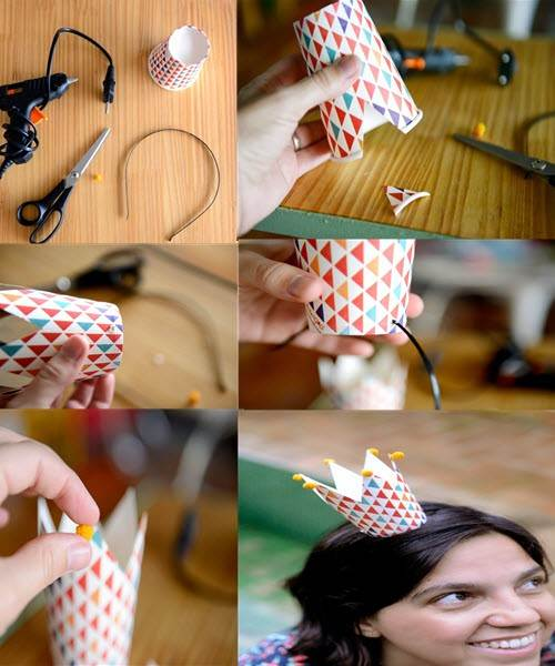 Как своими руками сделать корону из бумаги
