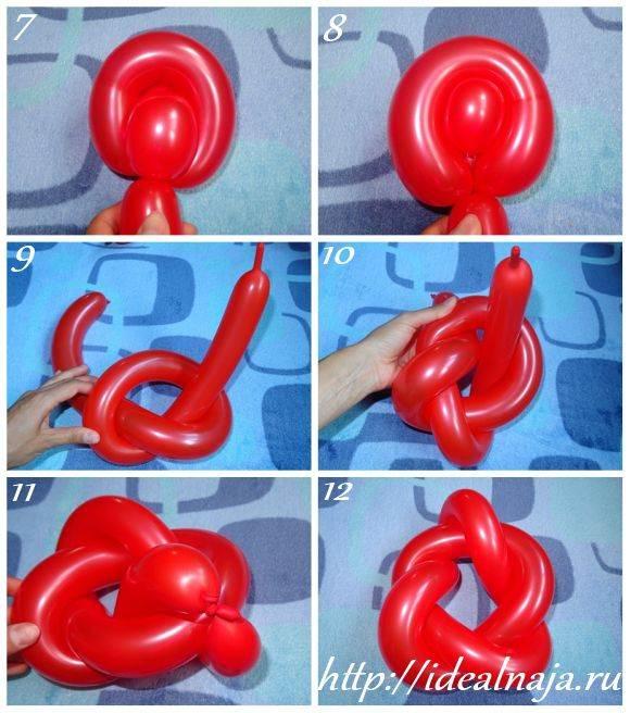 Как сделать что-нибудь из длинных шариков