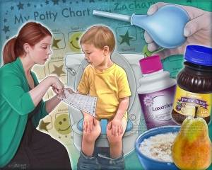 Слабительное средство для детей от 3 лет