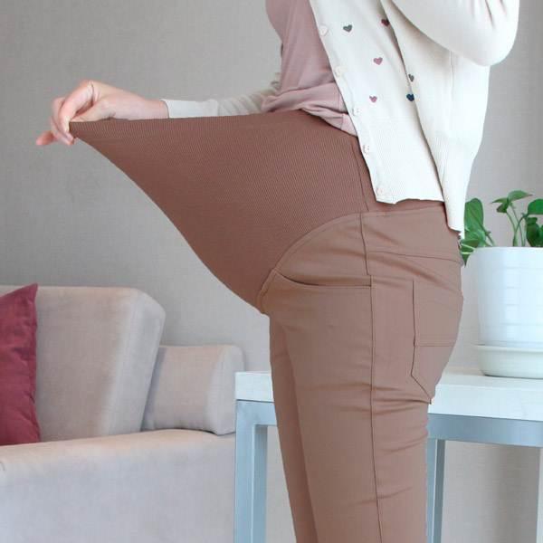 Перешиваем брюки в брюки для беременных