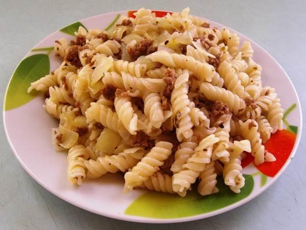 Макароны по флотски рецепт с фаршем и сыром пошаговый рецепт
