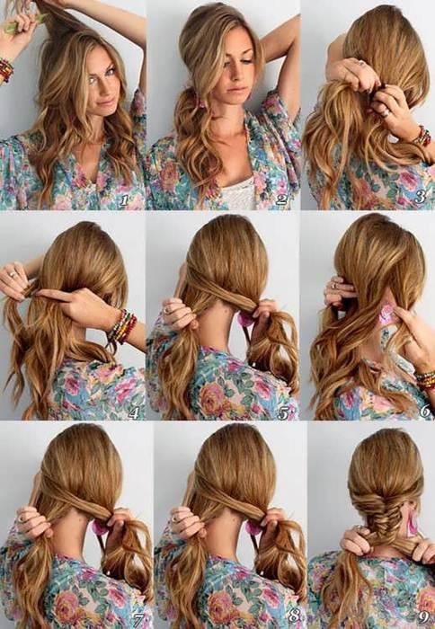 Прическа своими руками тонкие волосы