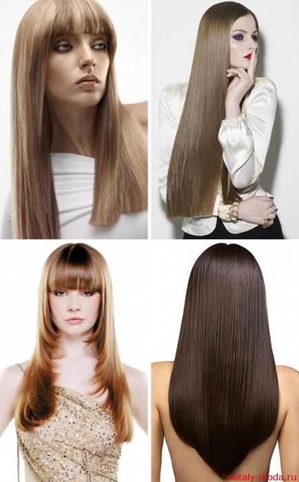 стрижка длинных волоспрически на длинные волосы