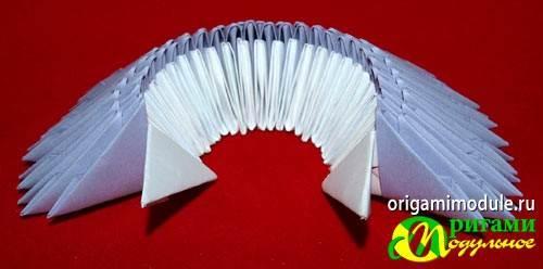 Как сделать ваза из модулей оригами
