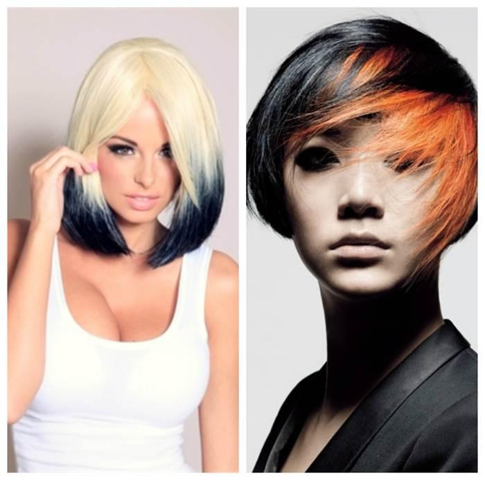 Закрасить белый цвет волос
