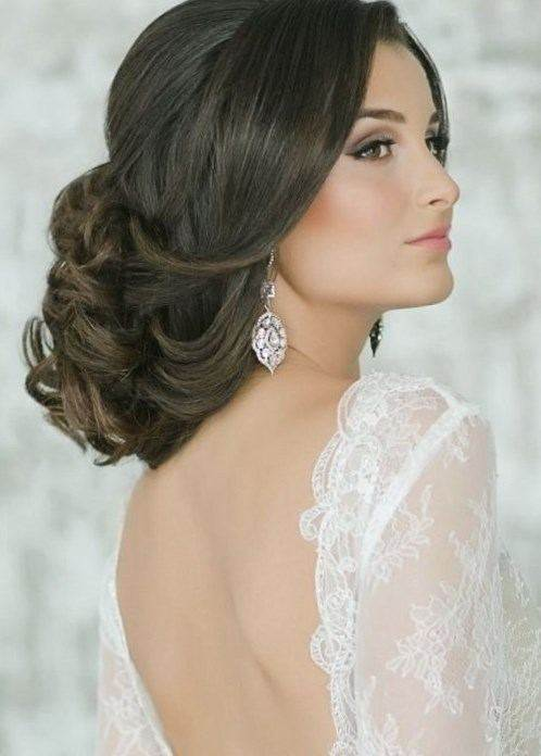 фото причёски для невесты
