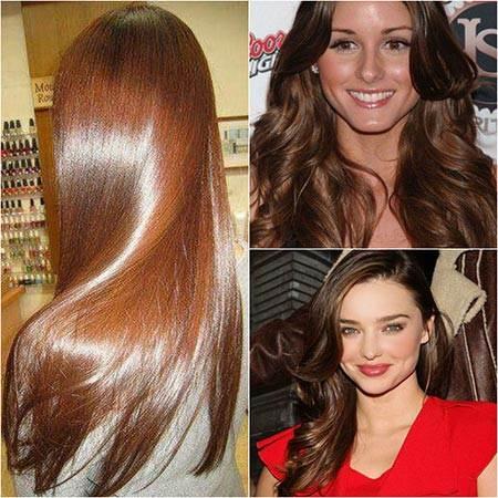 Выбираем оттенки каштановых волос: 90 идей - My Life