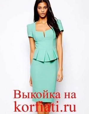 Как самому можно пошыть стильное платье