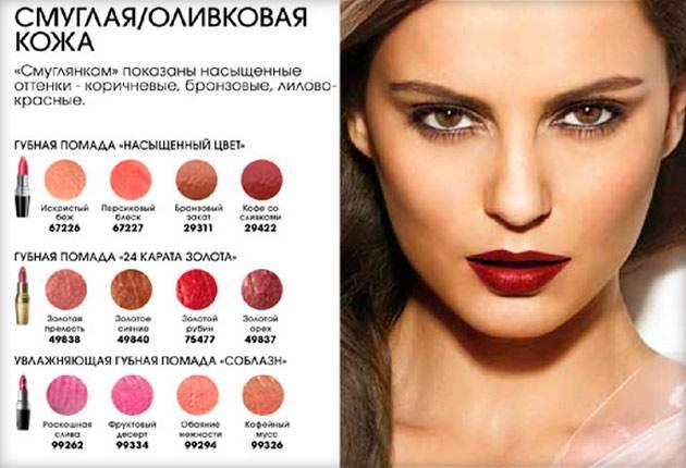Как правильно подобрать цвет помады для губ