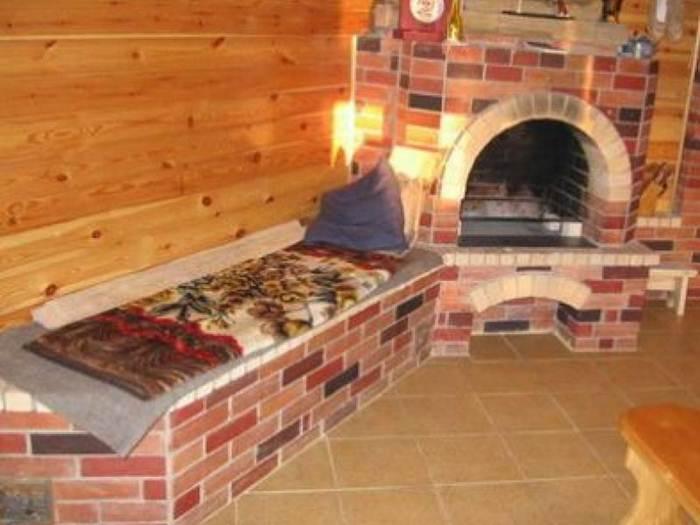 Русская печь на даче видео