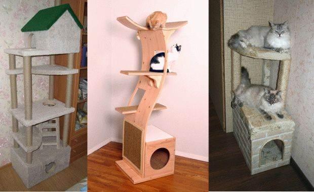 Дом для котенка пошаговая инструкция