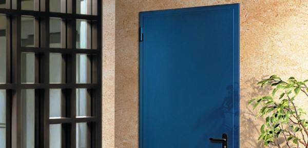 двери противопожарные металлические цвет по ралу