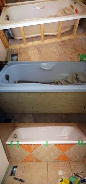 Экран из пвх под ванную своими руками 96