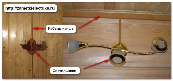 Как самому сделать электропроводку а в деревянном доме