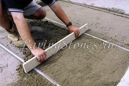 Выравнивание участка песком своими руками 47