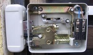 Электромеханический замок для калитки