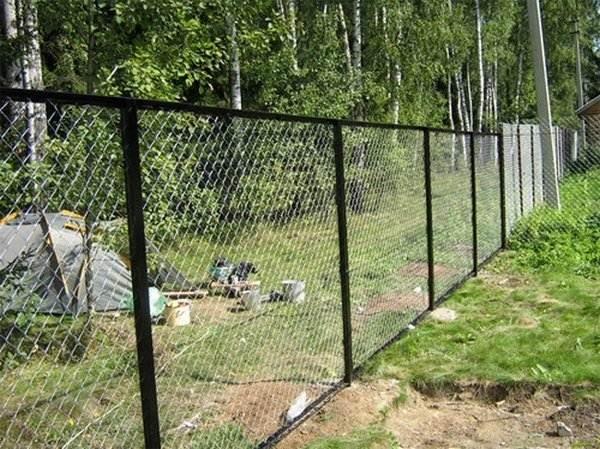 Самый дешевый забор своими руками