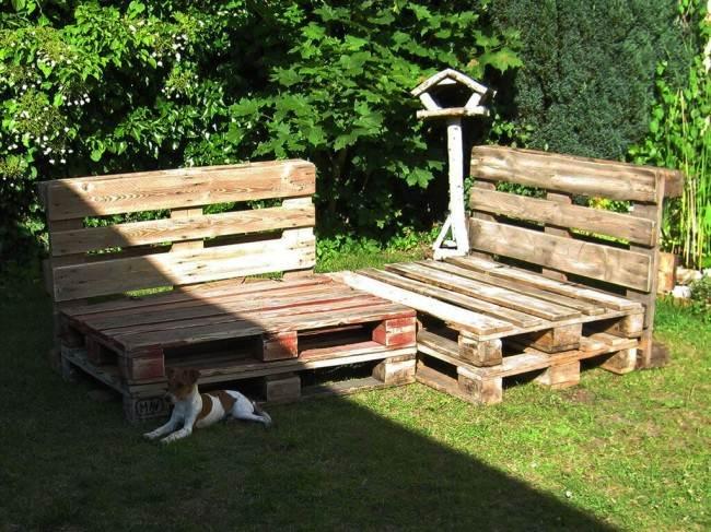 Садовый диван своими руками удачные самоделки