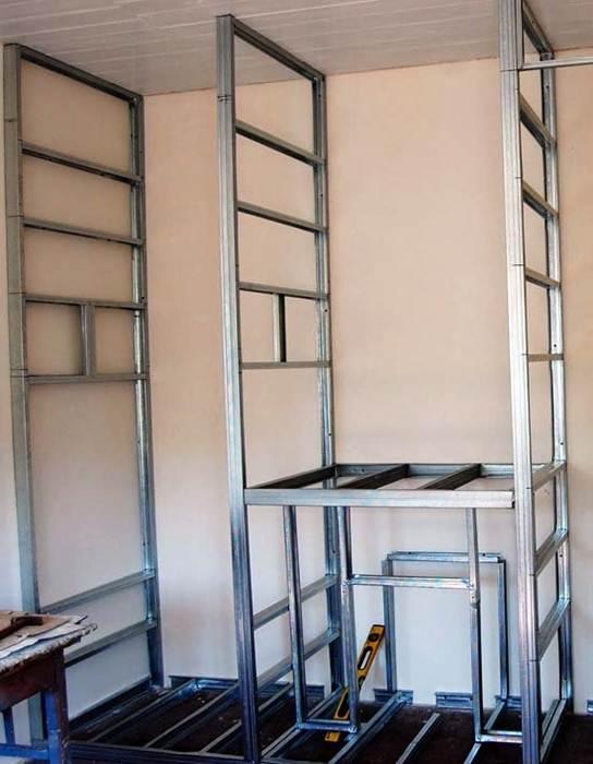 Шкаф из гипсокартона своими руками: инструкция от мастера - My Life