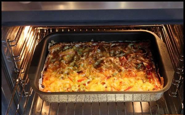 рецепт пиццы в духовке отзывы