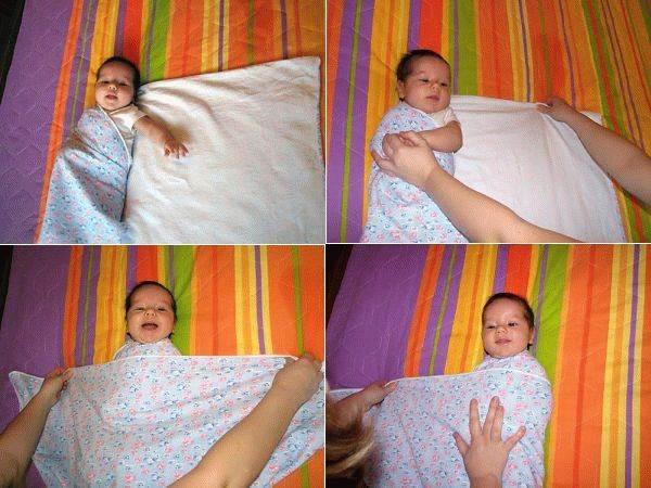 Как делать пелёнки для ребёнка