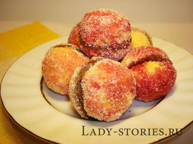 Печиво персики рецепт з фото