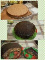 Торт нежный сникерс рецепт в домашних условиях