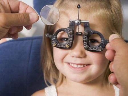 Можно родить самое если плохое зрение