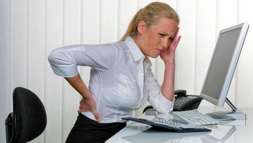 Болит низ спины слева