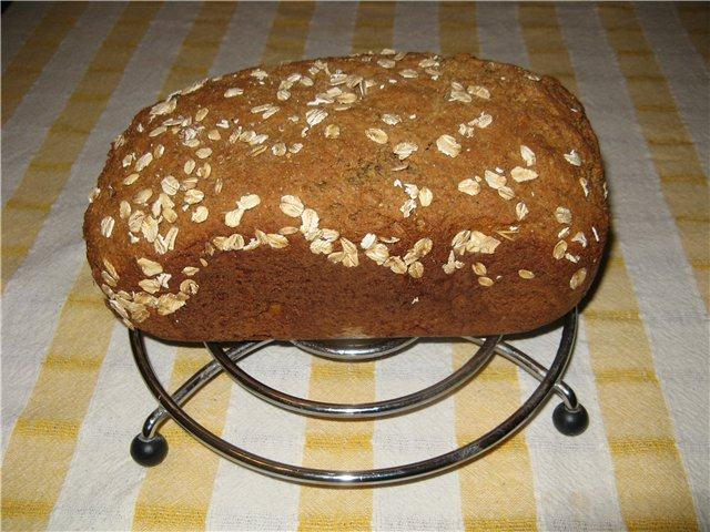 Хлеб в домашних условиях с отрубями 581